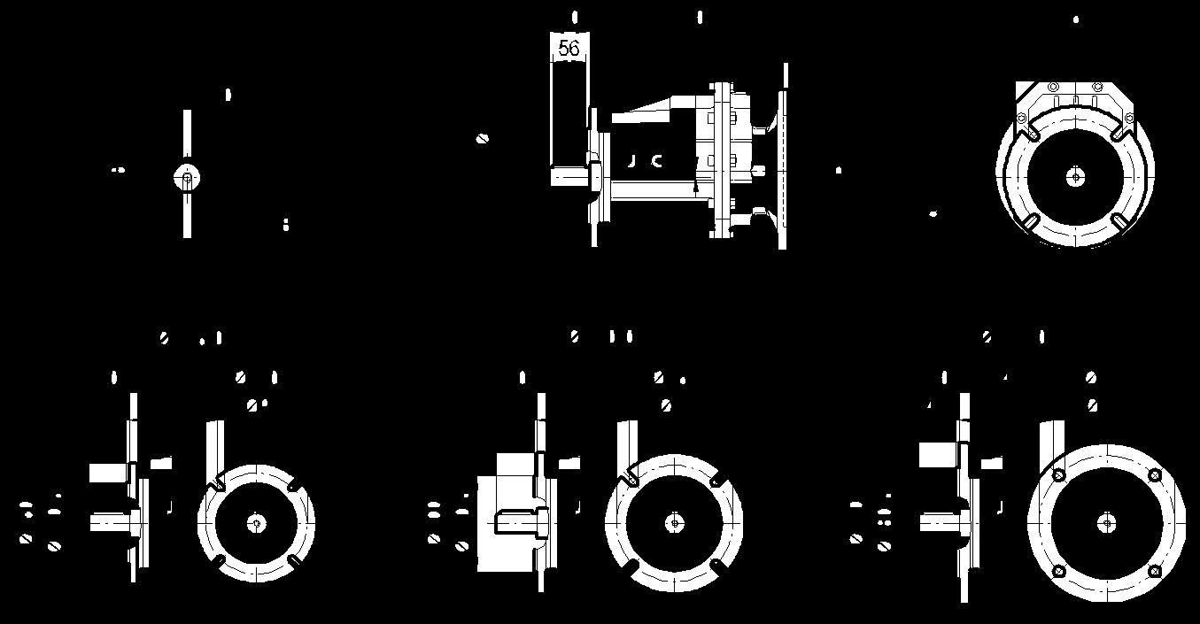 редуктор TRC 04 фланцевый